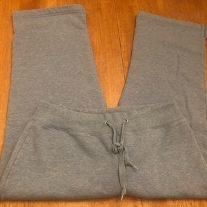 Champion baby blue Capri sweatpants size XL nice
